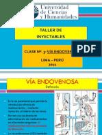 Venoclisis y vías endovenosas