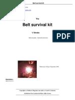 Belt Survival Kit