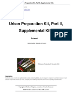Urban Preparation Kit Part II