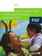 Committing to Child Survival