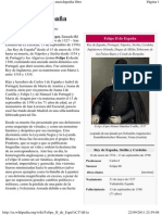 Felipe II de España - Wikipedia, la enciclopedia libre