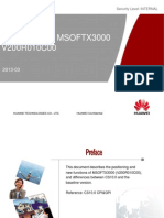 CS10.0 Introduction to MSOFTX3000 V200R010C00