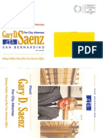 Gary D. Saenz City Attorney Flier 2013