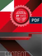 Catalogo DT Swiss 2014