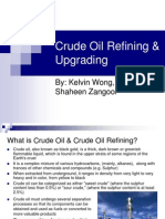 Crude Oil Refining Upgrading