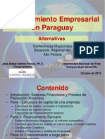 Alternativas de Financiamiento Empresarial