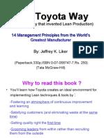 The Toyota Way 1