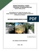 Estudio Hidrologico Hidraulico Carretera Pte Paraje - Montero 26 05 09