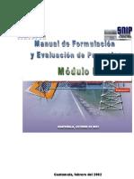 Manual de Formulación y Evaluación de Proyectos modificado