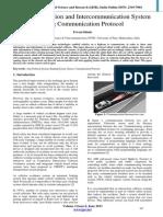 Car Anti-Collision and Intercommunication System using Communication Protocol