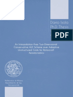 An Interpolation-Free Two-Dimensional Conservative ALE Scheme over Adaptive Unstructured Grids for Rotorcraft Aerodynamics