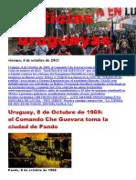 Noticias Uruguayas Viernes 4 de Octubre Del 2013