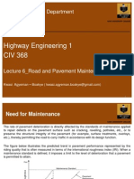 Road and Pavement Maintenance