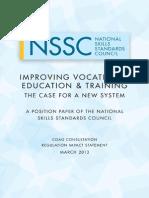 Improving Vocational Education