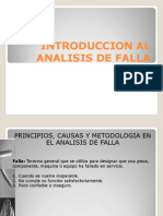 Introduccion Al Analisis de Falla