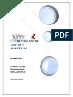 Diferencias Entre Ventas y Marketing