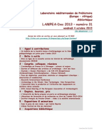LAMPEA-Doc 2013 – numéro 31 / vendredi 4 octobre 2013