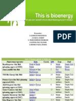 Bio Energy