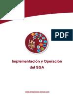 UC Implementacion y Operacion Del SGA