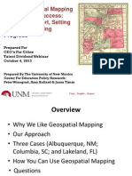 Using Geospatial Mapping