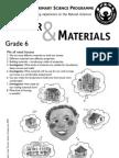 Matter and Materials [Grade 6 English]