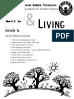 Life and Living [Grade 6 English]