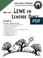 Die Lewe en Lewende Dinge [Graad 6 Afrikaans]