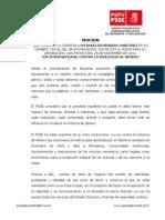 13-12-2011-Moción DIA INTERNACIONAL CONTRA VIOLENCIA GENERO