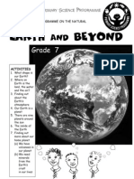 Earth and Beyond [Grade 7 English]