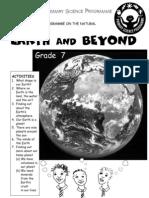 Earth and Beyond [Grade 7 English]