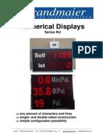 Numerical Display