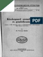 Kierkegaard személyisége és gondolkozása