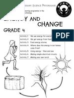 Energy and Change [Grade 4 English]