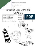 Energy and Change [Grade 6 English]