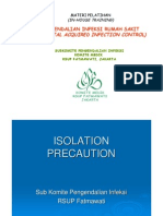 SubKomite Dalin Komite Medik - 10. Isolation Precaution