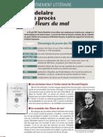 Baudelaire Et Le Proces Des Fleurs Du Mal