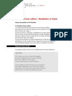 Baudelaire Et Satan - Texte Image