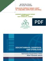 SubKomite Dalin Komite Medik - 09. Dekontaminasi Disinfeksi & Sterilisasi