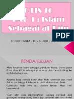 Week 2-Islam Sebagai Al-Din
