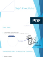 Ship's Pivot Point