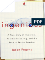 INGENIOUS by JASON FAGONE--Excerpt