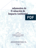 Fundamentos de Evaluacion Del Impacto Ambiental Bidced