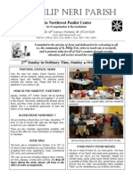Bulletin for October 6 -2013