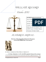The Appellate Record - October 2013.pdf