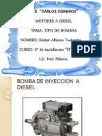 Tipos de Bombas Lineales