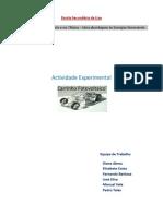 Actividade Experimental Carrinho Fotovoltaico
