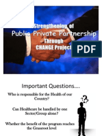 Modified PPP privte public partnership by change programme