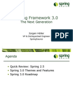 Spring Framework 3.0, The Next Generation