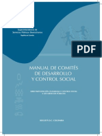 Manual de Comites de Desarrollo y Control Social_2010