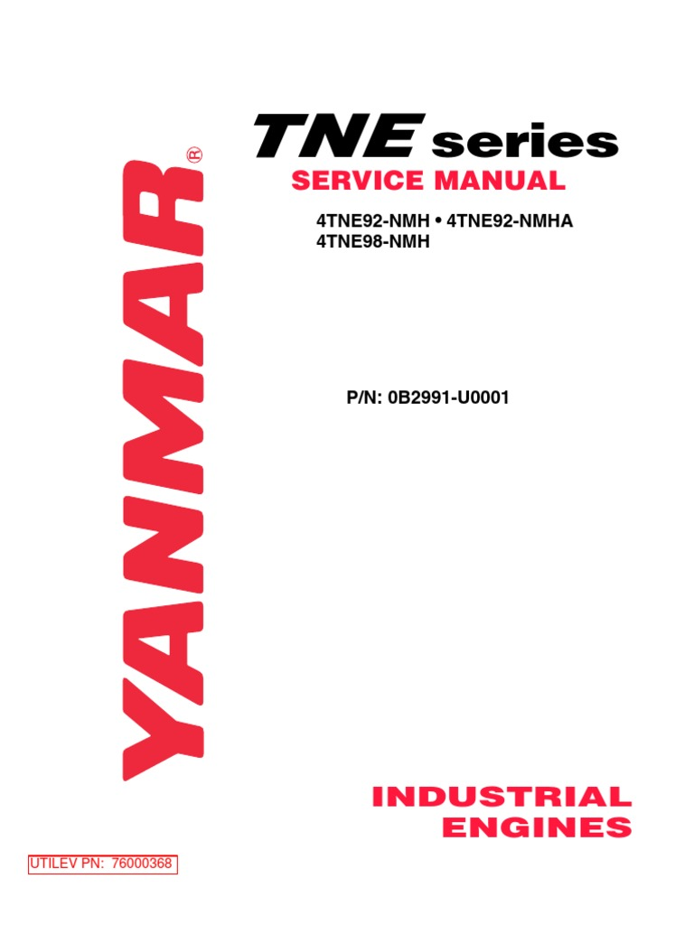 Service manual yanmar internal combustion engine motor oil ccuart Gallery